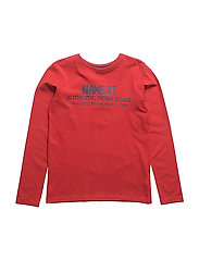 NITDOIL LS TOP M KIDS - POMPEIAN RED