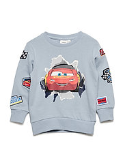 NMMCARS FILIP UNBRU SWEAT WDI - DUSTY BLUE