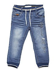 NMMBOB DNMATOLLY 2110 PANT - MEDIUM BLUE DENIM