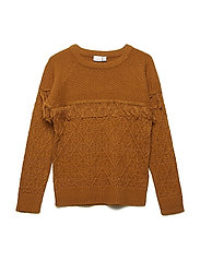 NKFOFRILL LS KNIT BOX - CATHAY SPICE