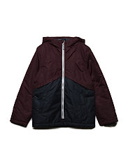 NKMMANG BLOCK JACKET - PORT ROYALE