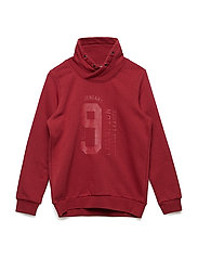 NKMRENE LS SWEAT BRU - RUBY WINE