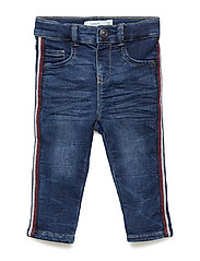 NBMSOFUS DNMATOM 2126 PANT - MEDIUM BLUE DENIM