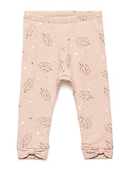 NBFRIE SWE LEGGING BRU - ROSE CLOUD