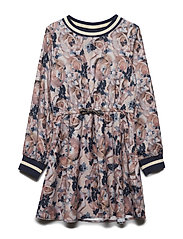 NKFOMILLE LS DRESS - ROSE CLOUD