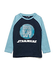 NMMSTARWARS HARLY LS TOP WDI - DELPHINIUM BLUE