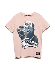 NKMBRUCE SS TOP - SILVER PINK