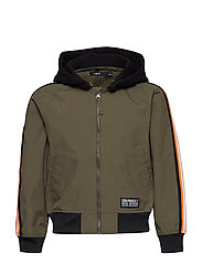 NLMMIGUEL BOMBER JACKET - IVY GREEN