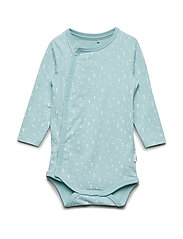 NBNDELUCIOUS LS WRAP BODY NOOS - CANAL BLUE