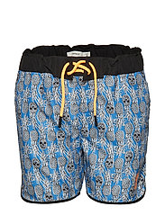 NKMZAIM SHORTS - STRONG BLUE
