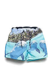 NMMZALA LONG SHORTS BOX - OCEAN WAVE