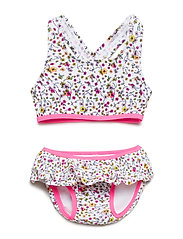 NMFZIBERTY BIKINI W SHIELD - KNOCKOUT PINK