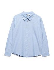 NKMRANU LS SHIRT - CASHMERE BLUE