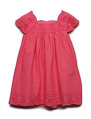 NMFDORA CAPSL DRESS WL - CAMELLIA ROSE