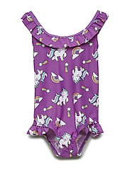 NMFPONY ANN SWIMSUIT LIC - PANSY