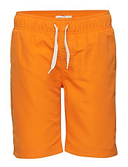 NKMZAKU SWIM LONG SHORTS CAMP - SUN ORANGE