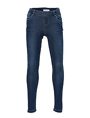NKFPOLLY DNMTORA 3238 LEGGING NOOS - DARK BLUE DENIM