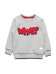 NMMKIMBO SWEAT - GREY MELANGE