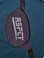 name it - NMMTOMA LS SWEAT BRU - sweatshirts - real teal - 2