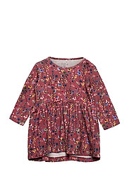 NBFTESSIE LS DRESS - WITHERED ROSE