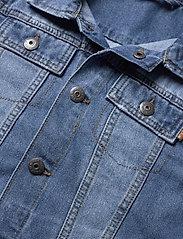 name it - NKMTPIMS DNM 2466 JACKET NOOS - jeansjacken - medium blue denim - 2