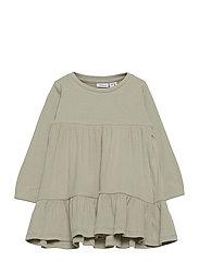 NMFFABBI LS DRESS - DESERT SAGE