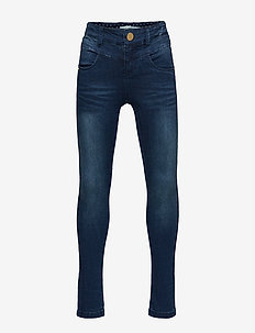NKFPOLLY DNMTRILLAS 3001 PANT NOOS - jeans - dark blue denim