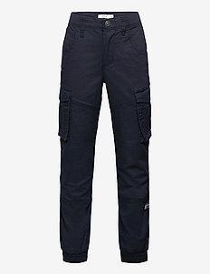 NITBAMGO REG/R TWI CA PANT M NMT - trousers - dark sapphire