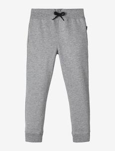 NKMSWEAT PANT BRU NOOS - sweatpants - grey melange
