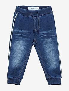 NBMROMEO DNMTRUEBO 3160 SWE PANT NOOS - jeans - dark blue denim