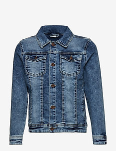 NKMTYRION DNM JACKET 2196 - jeansjakker - medium blue denim