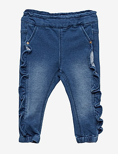 NBFRIE DNMBATORINA 2173 SWE PANT - MEDIUM BLUE DENIM