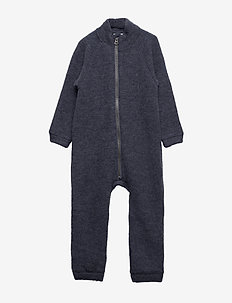 NMMWMINO WOOL BRUSHED LS SUIT XIX - OMBRE BLUE