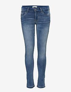 NKMTHEO DNMTHAYER 1166 SWE PANT NOOS - jeans - light blue denim