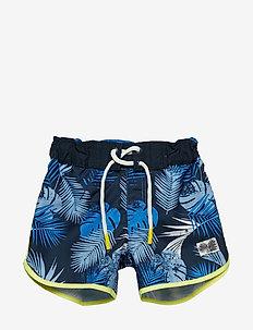 NMMZULLA LONG SHORTS - shorts de bain - strong blue