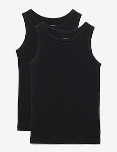 NMMTANK TOP 2P BLACK NOOS - BLACK