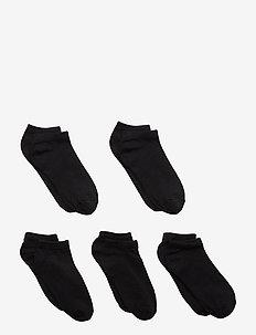 NKNFOOTIE 5P BLACK NOOS - BLACK