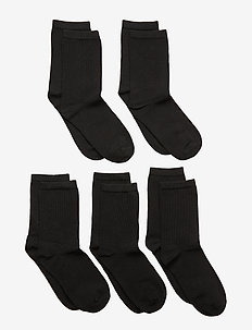 NKNSOCK 5P BLACK NOOS - socks - black