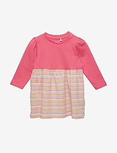 NBFDAGNY LS DRESS BOX - kjoler - camellia rose