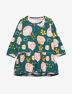 NMFKUNI LS DRESS - BAYBERRY