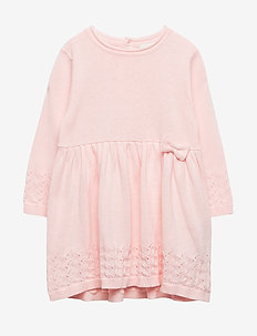 NBFLAEL LS KNIT DRESS - BARELY PINK