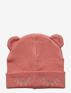 NMFMARINUS KNIT HAT - DUSTY ROSE