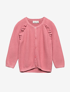 NBFOSINI LS KNIT CARD - DUSTY ROSE