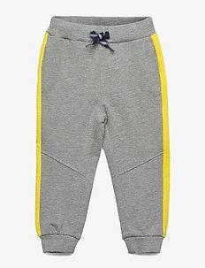 NMMVOLTANO SWE PANT UNB BB - sweatpants - grey melange