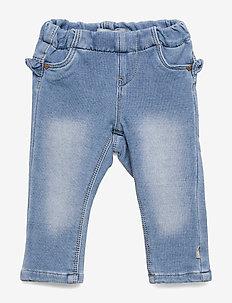 NBFTHEA DNMTORINA 1321 SWE LEGGING NOOS - leggings - light blue denim