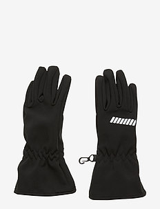 NKNALFA SOLID GLOVE FO - BLACK