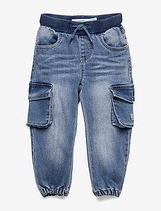NMMBOB DNMTANNI 1313 PANT NOOS - jeans - light blue denim