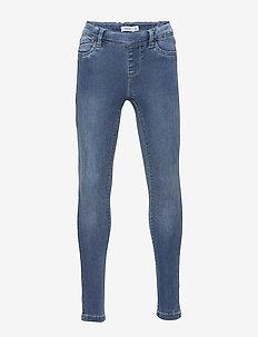 NKFPOLLY DNMTORA 2311 LEGGING NOOS - jeans - medium blue denim