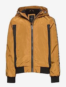 NKMMIGGO BOMBER JACKET - bomber jackets - bronze brown