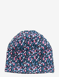 NMFMAXI AOP HAT - DRESS BLUES